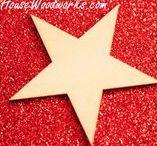Star Wood Cutouts Star Wood Shapes / Star Wood Cutouts And Star Wood Shapes for sale at www.ChurchHouseWoodworks.com. Star Wood Shapes, Star Wood Cutouts, Wood Stars, Wooden Stars, Wood Shaped Stars, Wood Star Shapes, Wood Cutouts, Stars, Star Wooden Cutouts, Wood Cutout Star Shapes, Star Wood Pieces, DIY Crafts Wood Stars, Flag Making, DIY Star Wooden