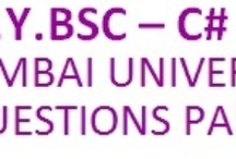 T.Y.Bsc - C# / This Board will contain Third Year Bsc C#  question paper of Mumbai University. For more such details visit us on http://www.bscmscit.blogspot.in/