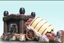 Fun Inflatables by EZ Inflatables. / At EZ Inflatables we focus on building innovative, safe inflatable play structures. Our priority is safety and fun. Check out our web site at www.ez-inflatables.com