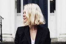 Medium-length Hairstyles / Need some inspiration for your next cut? How about something stylish, sophisticated, and a little spunky.