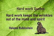 Work Quotes / Quotes about Hard Work and Quotes on work and sayings