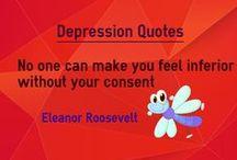 Depression Quotes / Quotes about depression
