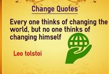 Change Quotes / Quotes about change
