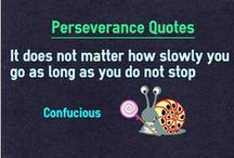 Perseverance Quotes / Quotes about perseverance