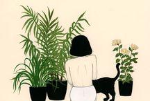 Växter å blommor