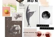 mood boards / set a mood with color