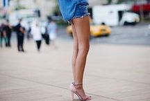 shorts styling / if you got 'em, flaunt 'em! / by Erin Hiemstra / Apartment 34