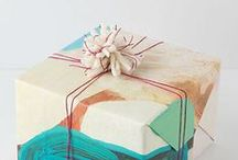 gifted / Gift ideas + holiday wrapping