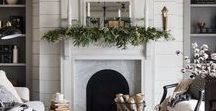 holiday styling / It's time to trim those trees and deck those halls! This is the spot for all your Christmas & New Year's Eve decorating inspiration