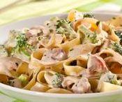 Massas   Pasta / Lasanhas, diversos tipos de macarrão, nhoque, panquecas e deliciosas massas em geral!