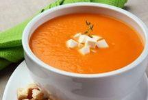 Sopas | Soup / Sopas, cremes, canjas, sopa de feijão e diversos sabores para garantir uma refeição levinha e nutritiva!