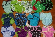 Cloth Diapers / My name is Heather, and I am a cloth diaper addict. / by Heather Johnson