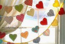 Valentine's Day / Valentines Day crafts, decor, recipes, ideas