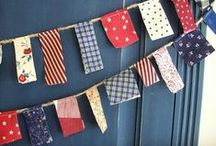 Independence Day / Fourth of July DIY, decor and party ideas