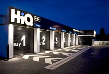 Retail Design - HiQ / Award Winning Tyre and Fast Fit Design.