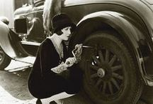 Pioneering women / Pioneering women - Automotive, cars and tyres. From pin-up to CEO.