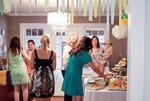Baby Shower Ideas / Ideas for planning a baby shower including invitation ideas, games and themes ideas.