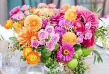 Flower arranging / Floral arrangement ideas