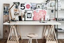 Art Studio/Office / by Kristin Villalovos