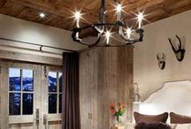 Bedroom Inspiration / Master bedroom or guest bedroom ideas with a rustic farmhouse touch.
