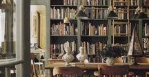 library / library decorating ideas