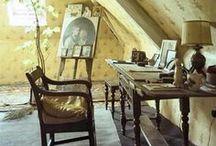 attic / attic room decorating ideas