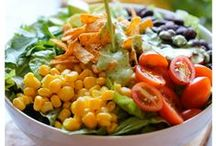 Healthy Dinner Options / Healthy recipes filled with vegetables and good grains.