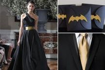 Black & Gold Wedding / The Dark Knight Rises / Elegant Batman Themed Wedding  / by Kristin Villalovos