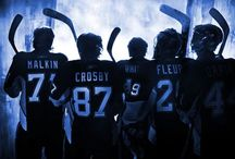 Puck me. / my hockey boys // Pittsburgh Penguins + Chicago Blackhawks / by Iz