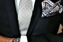 A well-dressed man / by Carolyn