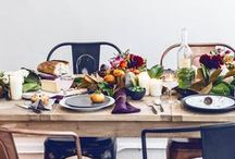thanksgiving ideas / There may only be a week to go but you can still pull off a beautiful table, delicious recipes and maybe even a thanksgiving diy or two!