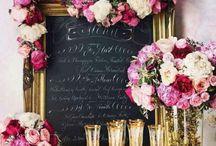 My Wedding / Woodland | Elegant Raspberry Pink / by Kristin Villalovos