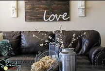 My Rustic Home / Inspiration and ideas for a modern and rustic home.