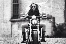 Moto chic / Moto, leather, biker, rock and roll style