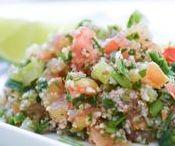 Saladas   Salads / Diversas receitas de saladas para uma refeição nutritiva, leve e muito colorida! Confira!