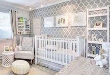 Interior Design - Nurseries / Beautiful interior design ideas for boys and girls nurseries.