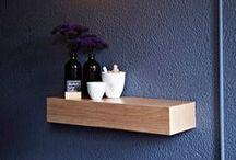 Interior Design - Shelving / Gorgeous interior design ideas for shelving .