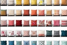 Pillow Talk / A pillow is a great way to add interest to any room...(Well, except the bathroom)