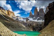 Torres del Paine / El parque Torres del Paine se encuentra , en la Patagonia chilena , reconocida por prestigiosas publicaciones , como una de las maravillas de la naturaleza a nivel mundial , en el extremo sur de Chile , en la región de Magallanes y Antartica chilena .