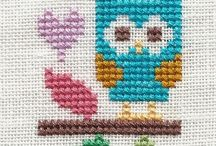 Cross stitch / My cross stitch pictures