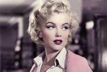 Marylin Monroe Style / Ikona #mody, ikona stylu. Poznaj styl #gwiazdy i zainspiruj się.  All about Marylin, get the look by her.