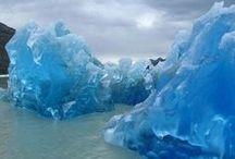 patagonia glaciar / glaciares de la patagonia  Chile , Argentina, cordillera Darwin