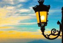Candeeiros, lâmpadas e lamparinas