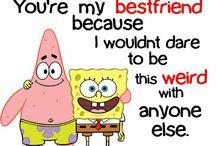 Da best of friends forever / Best friends forever duh / by Tabitha Stambaugh