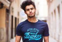 Colección Camisetas CHICO SS15 / Colección de camisetas FLOWKER® de chico primavera/verano 2015