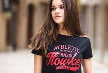 Colección Camisetas Chica SS15 / Colección de camisetas FLOWKER® de chica primavera/verano 2015