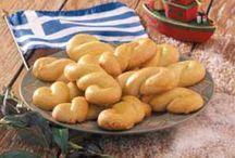 Delicious greek plates