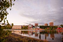Enjoy the View! / The Michigan Tech campus is gorgeous in all seasons. Enjoy these aerial, waterfront and campus shots from one of the prettiest, most distinctive campuses in the world situated on the shores of Lake Superior in Michigan's Keweenaw Peninsula.