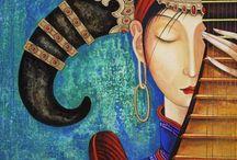 Zayasaikhan Sambuu (Zaya) Art