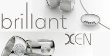 """Xen sieraden / """"Xen Pure and full of spirit"""" Less is more; sterke ontwerpen in edelstaal al dan niet in combinatie met diamant."""